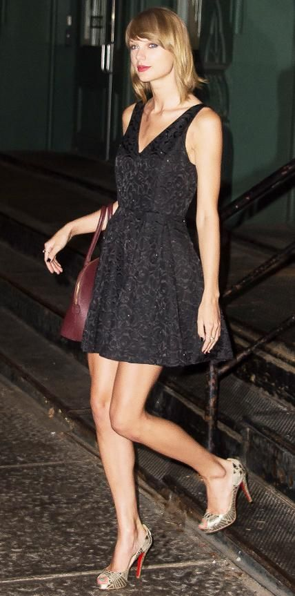 69 Reasons Why Taylor Swift Is a Street Style Pro - October 3, 2014 from #InStyle
