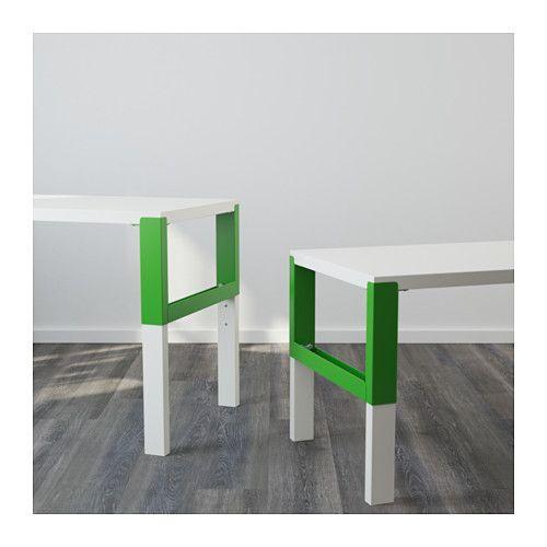 PÅHL Escritorio - blanco/verde - IKEA