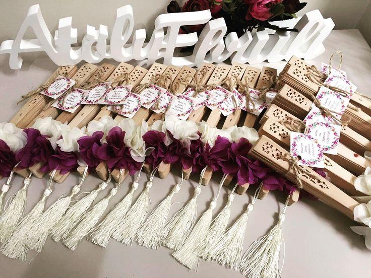 Bambu yelpaze... Düğün, nişan, bekarlığa veda gecesi için farklı bir hediye alternatifi
