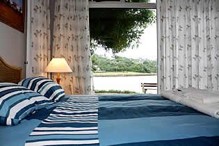Bedroom enjoying wonderful river view