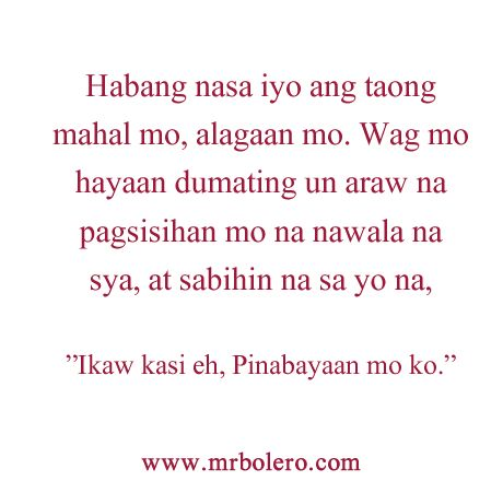 "Top ""TAGALOG LOVE QUOTES"" and Pinoy Love Quotes Collections"