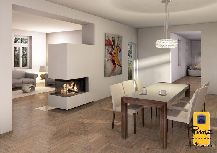 Planification des foyers de cheminées modernes, poêles en faïence et cheminées à Niederösterr …