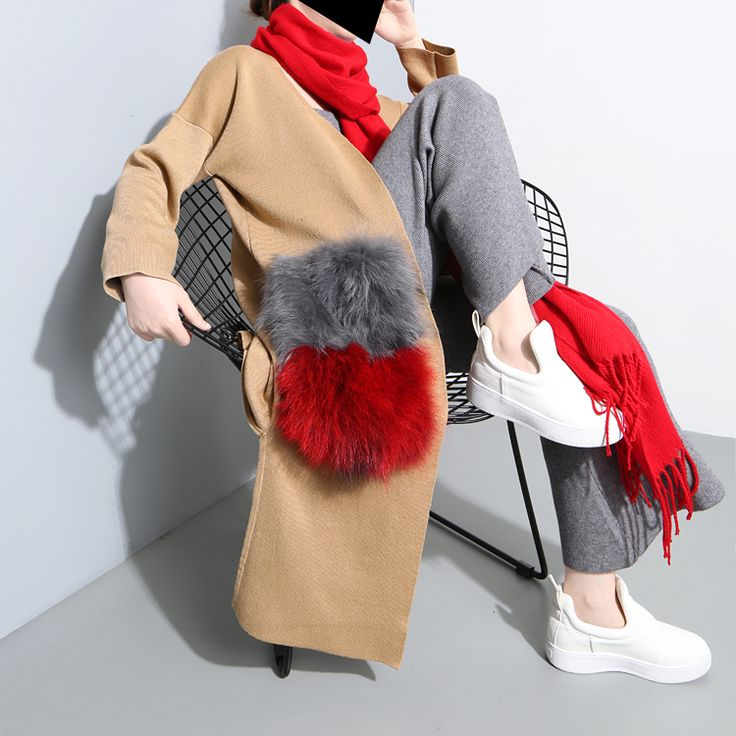 Find More Trench Information about TWOTWINS Homemade Street Fashion Raccoon Hair Really Big Loose Cardigan Coat Pocket Long Sweater Knitted Female,High Quality sweater material,China coats korea Suppliers, Cheap sweater factory from TWOTWINSTYLE on Aliexpress.com