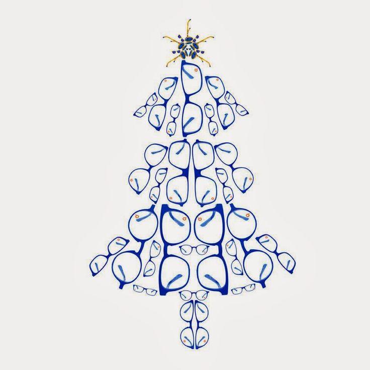 Eyeglass Christmas Tree