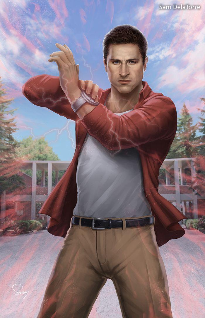 Power Rangers (Time Force) - Wesley Collins by SamDelaTorre