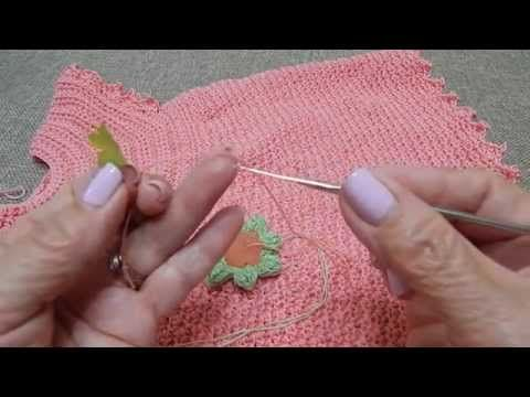 Vestido para Niña 6-12 meses Facil Crochet - YouTube