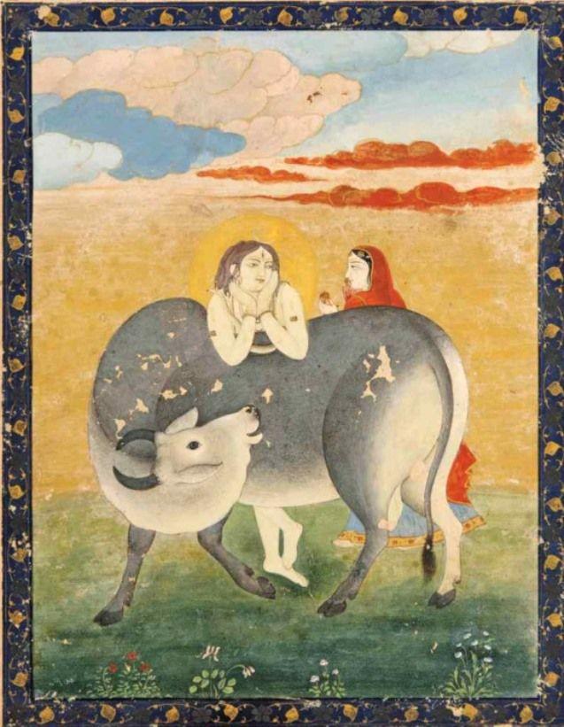 Shiva, Parvati and Nandi