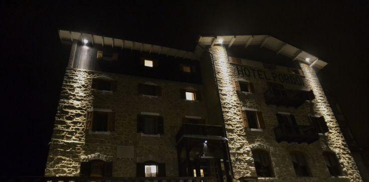 HotelPordoi by night new look