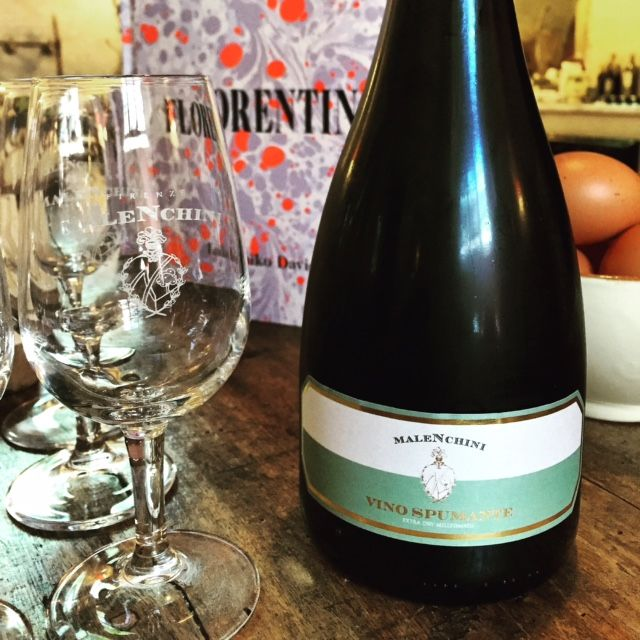 Our Spumante wine is ideal as an aperitif or with food too