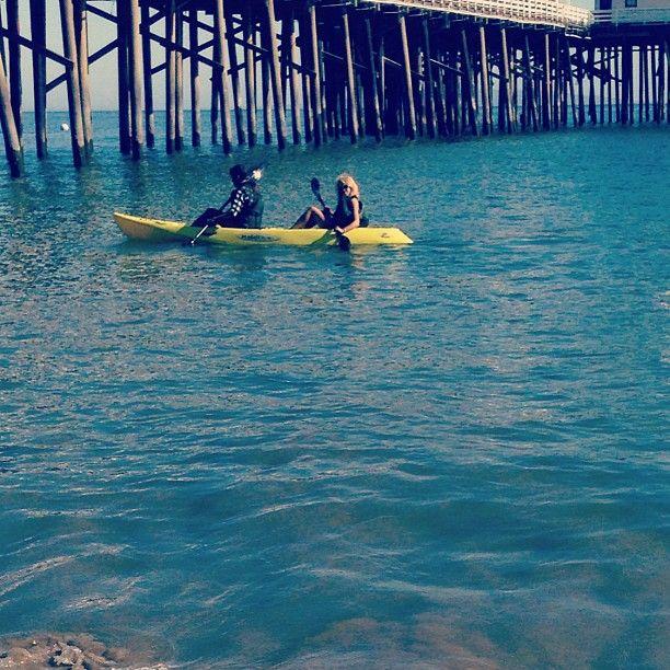 Ocean Kayaking.