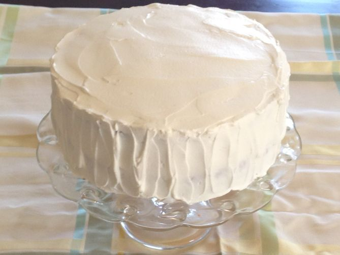 Stabilized Whip Cream Frosting