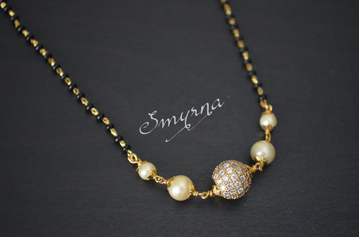 simple mangalsutra #Indian #Jewellery