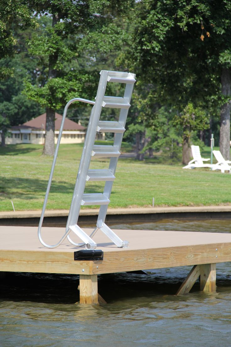 Stair Step Dock Ladder Easy To Go Up And Down Into The