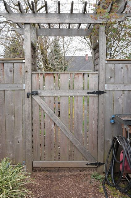 How To Build A Fence Gate That Won T Sag Woodworking