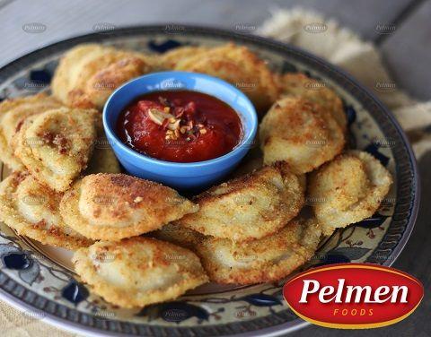 Marinara Crisp Perogy. Recipe: http://pelmen.com/recipe?id=147#.WRX76eErKUk