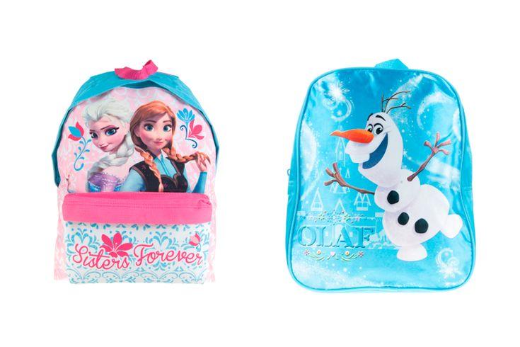 Mochilas escolares de Frozen en Primeriti.es  http://stylelovely.com/primeriti/2016/02/26/mochilas-escolares/
