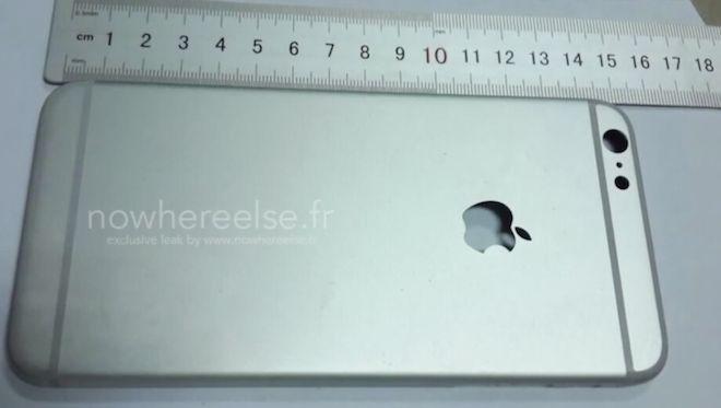 Video de la parte trasera del iPhone 6 de 5.5 pulgadas - http://www.esmandau.com/162420/video-de-la-parte-trasera-del-iphone-6-de-5-5-pulgadas/