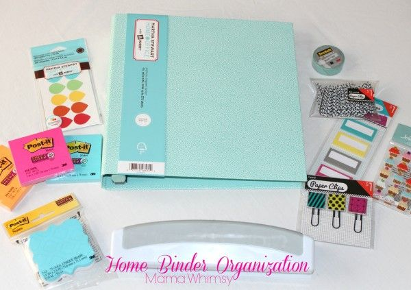 How to Organize Your Home Binder (FREE printables) - Ask Anna