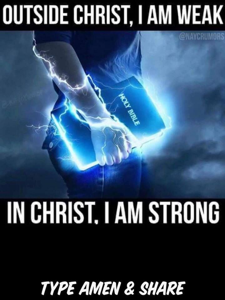 In Christ I am Strong