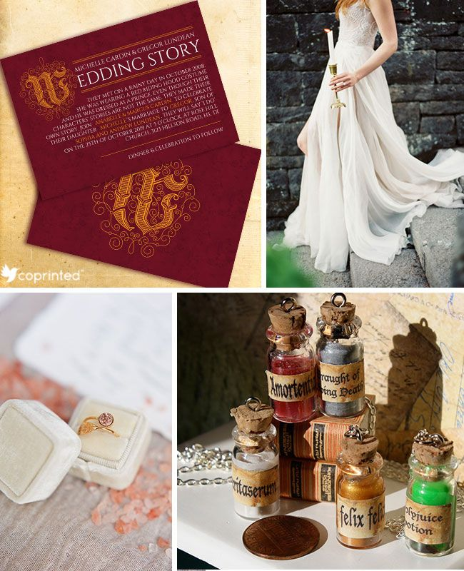 Harry Potter Wedding Inspiration Board