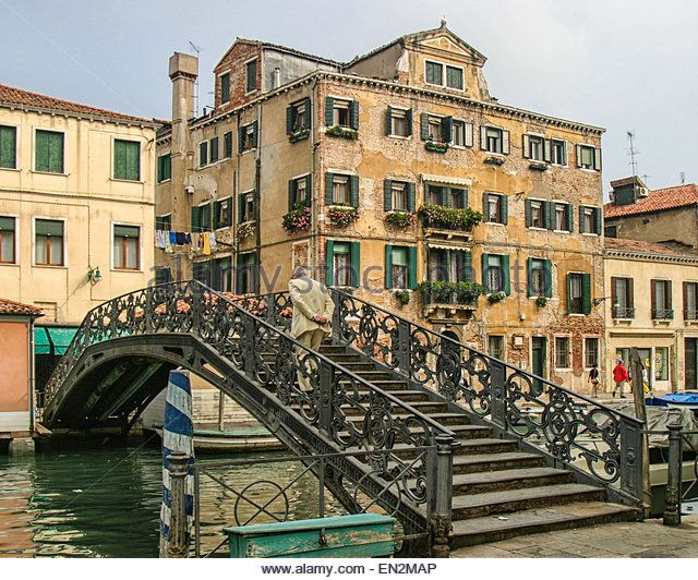 Jewish Ghetto Venice Bridge Stock Photos & Jewish Ghetto Venice ...