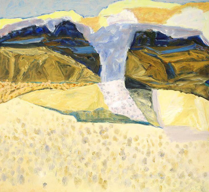 Passage, oil on canvas, 2014 jo Bertini