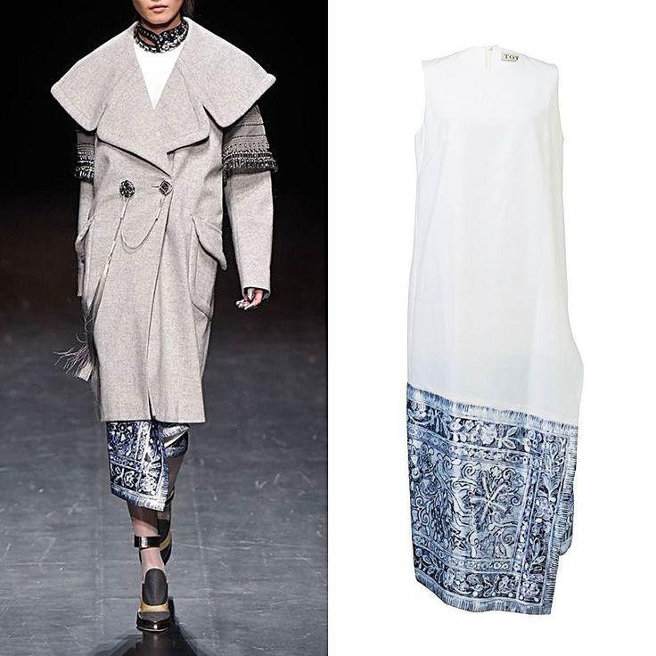 @totonthelabel draws his inspiration from Batik Tumpal Motifs from Central Java as shown at Tokyo Fashion Week last year. TOTON 'Sleeveless Print Dress'-30% OFF at ROOMOOMO.com