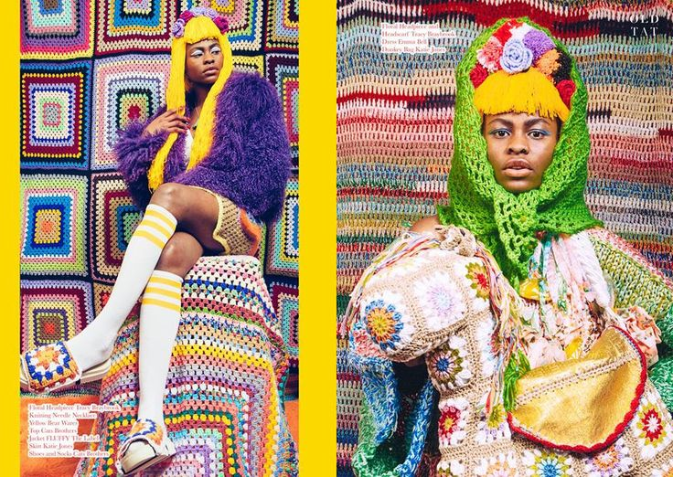 'Crochet Crazy'  Published in Old Tat Magazine