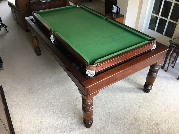 13 best Antique Rollover Snooker Tables images on Pinterest ...