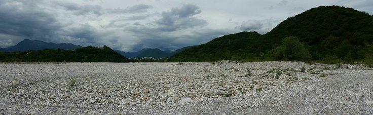 Ponte sul Meduna tra Sequals e Colle.