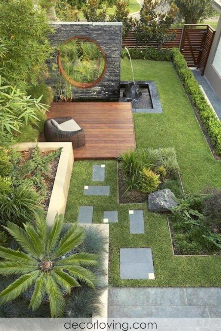 Pin On Garden Ideas Modern Backyard Landscaping Backyard Garden Design Backyard Landscaping Designs Very small backyard garden ideas