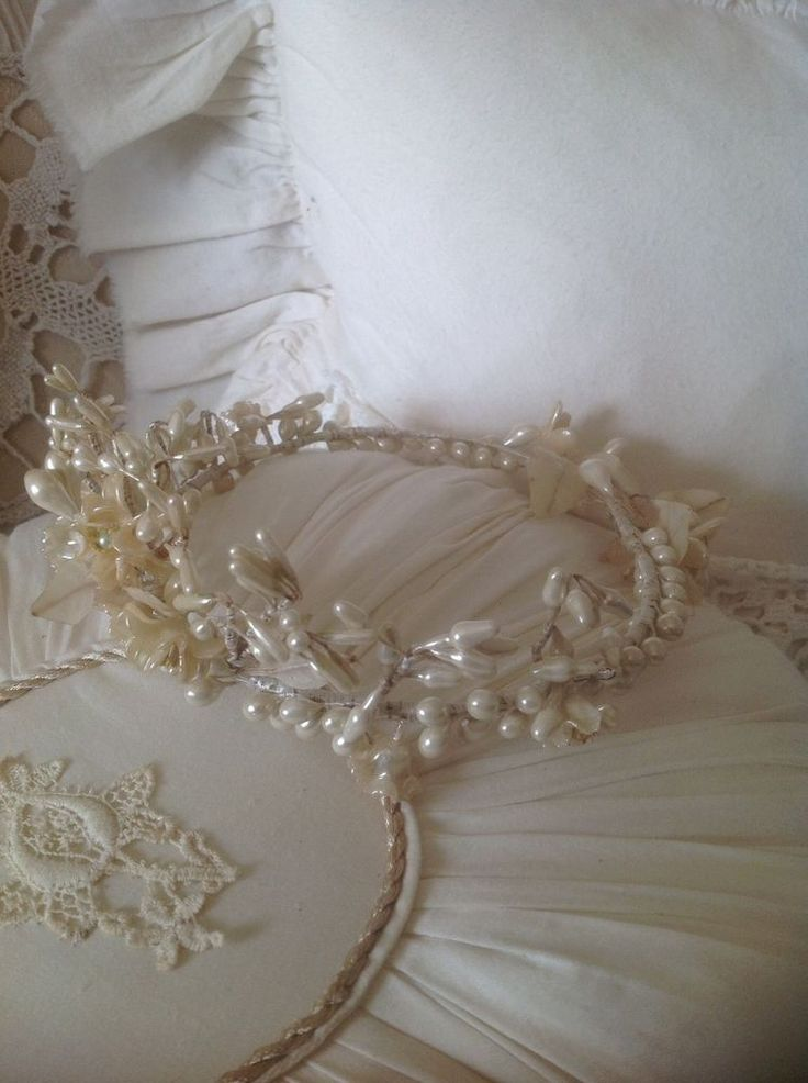 Ancienne couronne de mariee french vintage pinterest for Couronne shabby chic