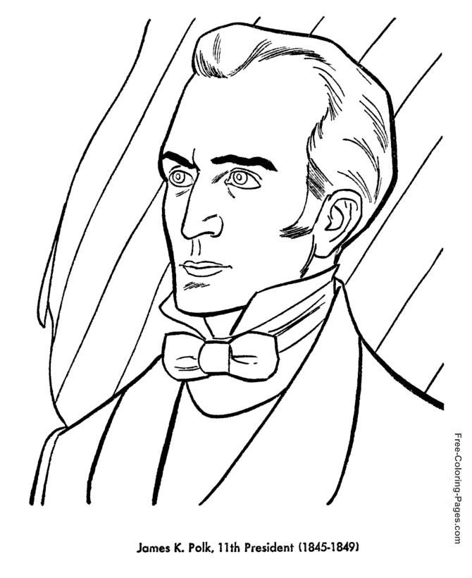 all 44 presidents coloring pages - photo#29