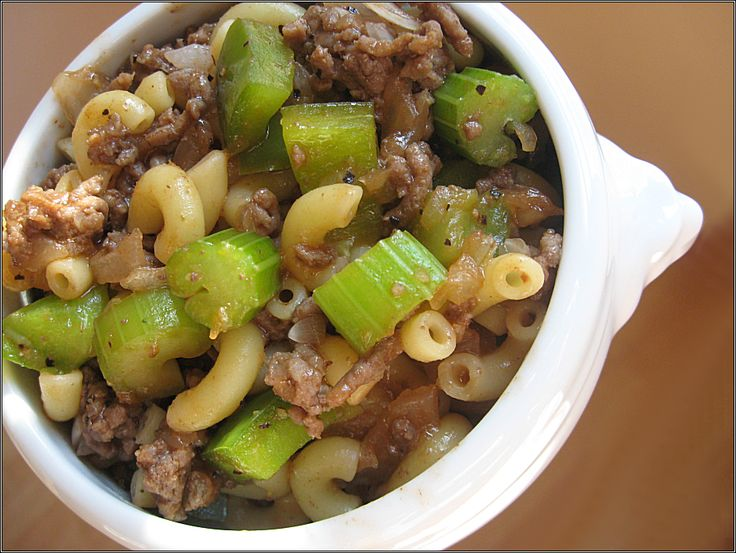 The Snack Box!: Barbecue Macaroni Beef   – Food