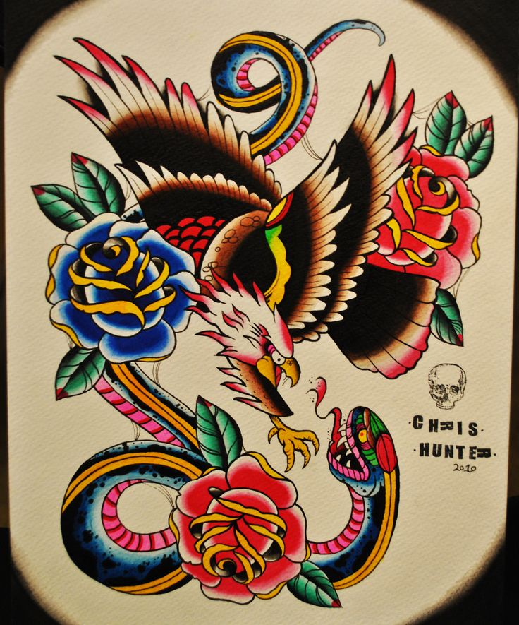 45 best eagle and anchor tattoo flash images on pinterest anchor tattoo flash more americana tattoos snake tattoo traditional tattoo fandeluxe Epub