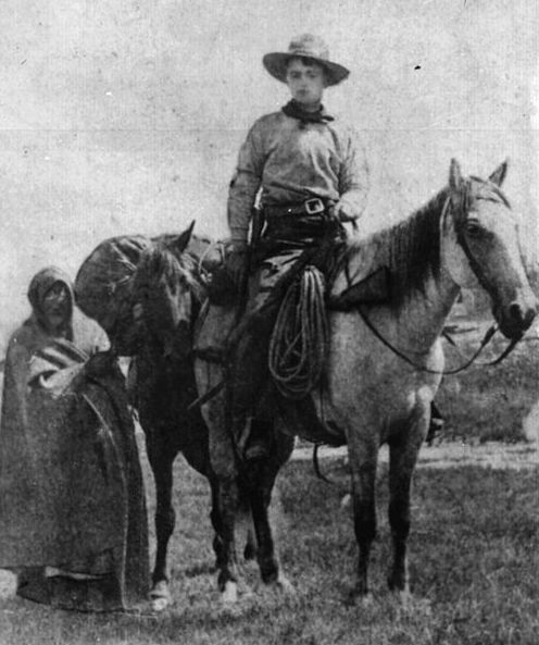 """Photo: Frank E. Webner, Pony Express rider, c. 1861. Credit: U.S. National Archives & Records Administration. Read more on the GenealogyBank blog: """"A Western Legend Is Born: First Pony Express Ride"""" https://blog.genealogybank.com/a-western-legend-is-born-first-pony-express-ride.html"""