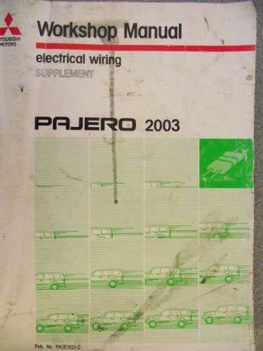 Mitsubishi Pajero Electrical Wiring Supplement 2003 Phje0001