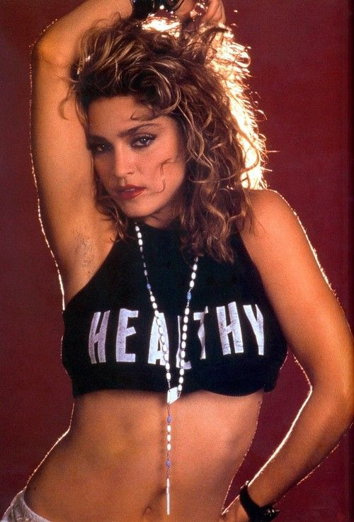 Madonna's crazy, sexy armpits