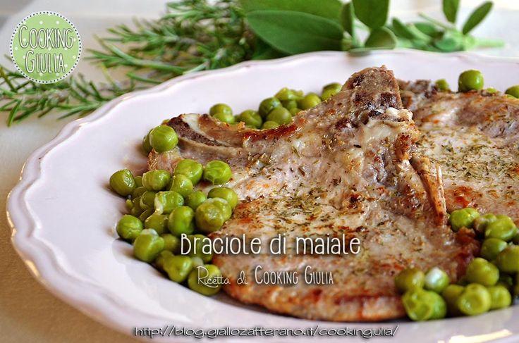 Le braciole di maiale in padella sono un secondo piatto gustoso e veloce da preparare! Sono ottime accompagnate con insalata di stagione o patate al forno