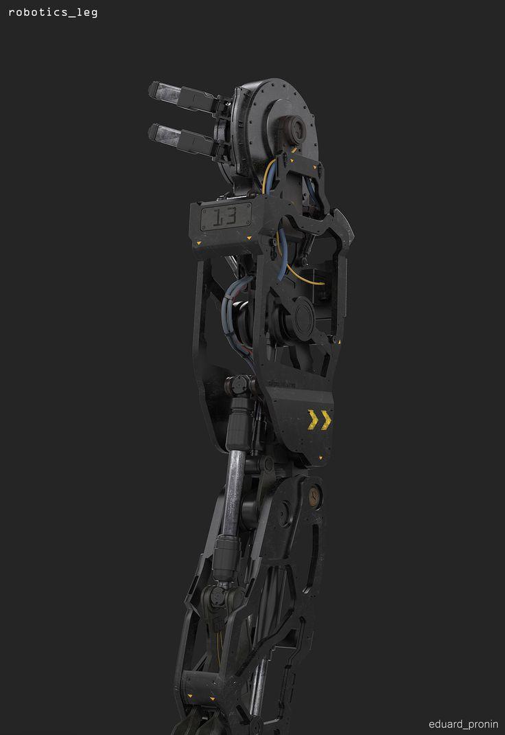 ArtStation - Robotics, Eduard Pronin