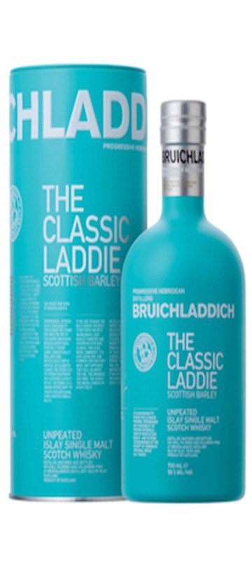 10% OFF for 6 or more bottles – automatically deducted at CHECKOUT   Country of Origin: Scotland Bruichladdich believe terroir matters. They are the only major distillery to distill, mature and bottle all of their whisky on Islay, all of the time.  The distillery has made commitments to Islay farmers who now grow barley exclusively …