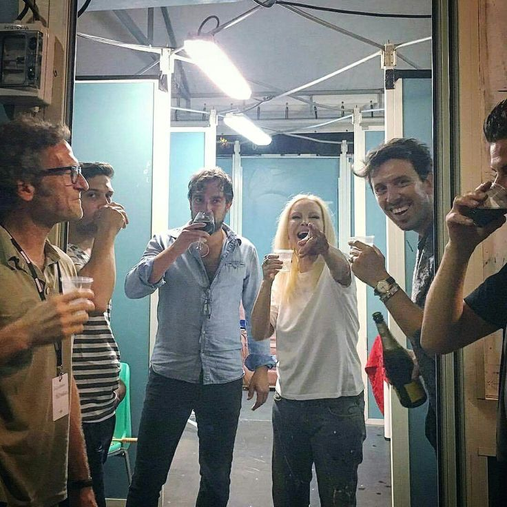 Backstage Patty Pravo