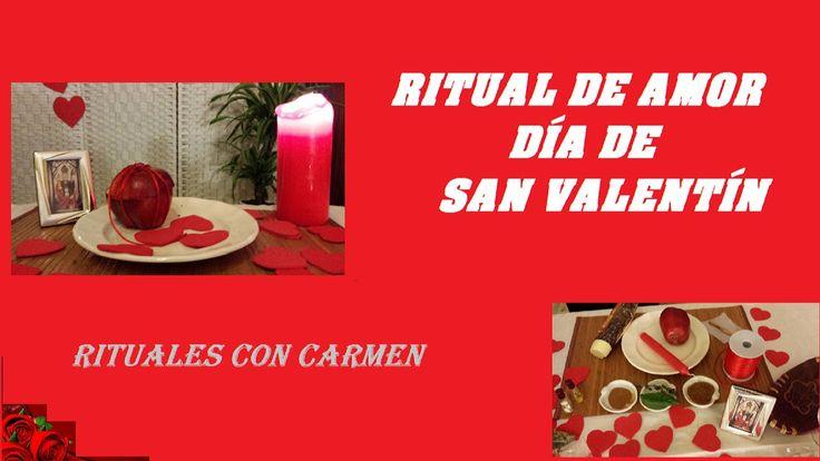 Ritual de Amor. Día de San Valentín, Rituals Velentine´s Day