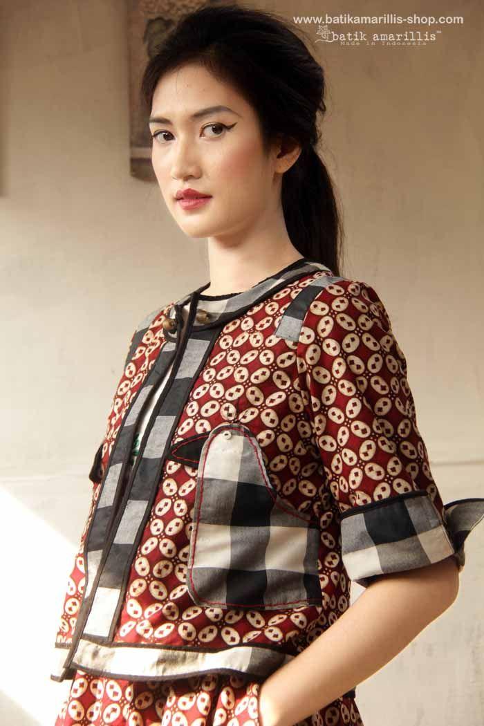 ♥ Batik Amarillis's Birdy jacket ♥ Batik Amarillis made in Indonesia ... The…