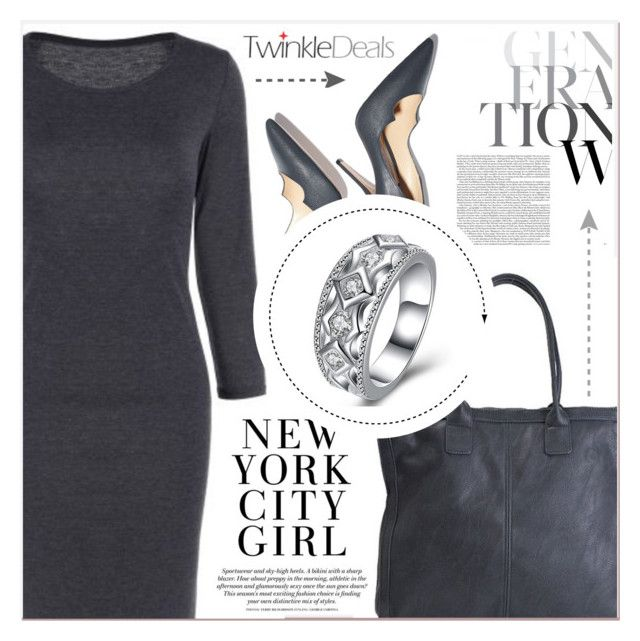 """Grey Style"" by lucky-1990 ❤ liked on Polyvore featuring Paul Andrew"