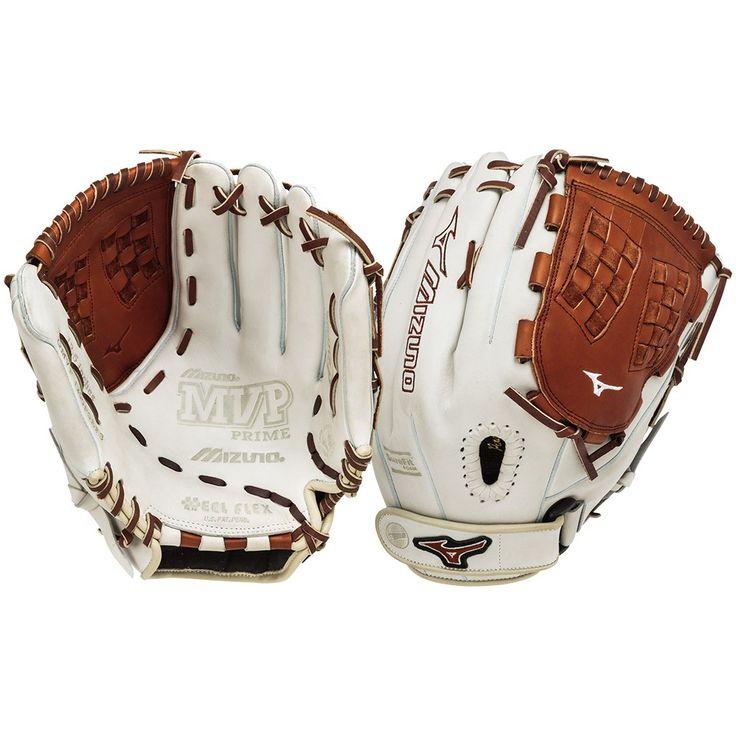 "Mizuno MVP Prime SE Silver/Brown GMVP1250PSEF3 12.5"" Fastpitch Softball Glove"