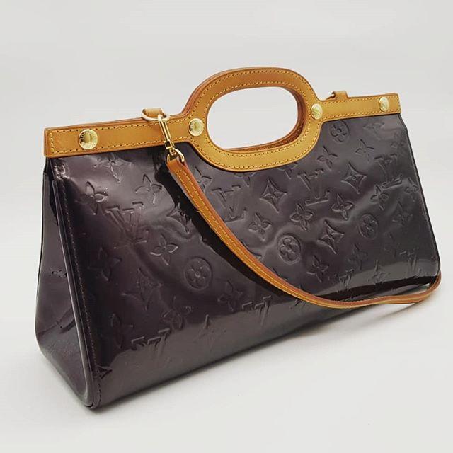 800 Wire Preloved Louis Vuitton Roxbury Drive Bag Amarante