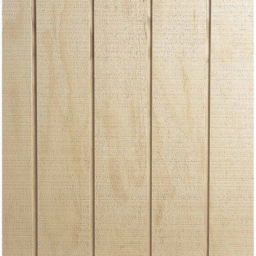 Natural Groove H3.1 Treated Plywood Cladding
