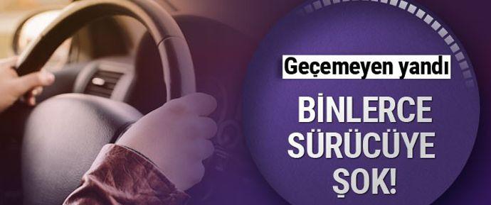 Yılda 3 kez ve daha fazla kaza yapan 10 bin 600 sürücü psikoteknik teste tabi tutulacak.
