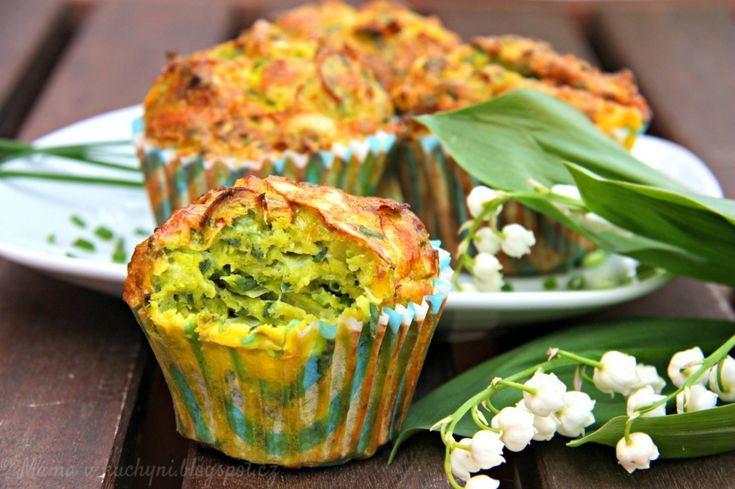 Hráškové muffiny pro děti od 1 roku